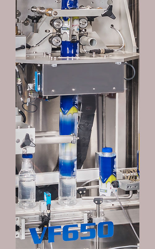 OPTI-PACK: Sleevemachine VF650 compact, eenvoudige bediening , weinig onderhoud, zeer kostenefficiënt
