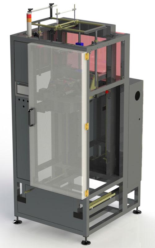 OPTI-PACK: Sleevemachine VF650 brengt sleeves aan over lege en gevulde producten in PET/PET-G, OPS, PLA of PVC met snelheden tot 650 per minuut.